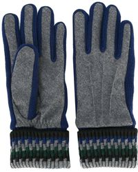 Carven - Ribbed Cuff Gloves - Lyst