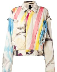 Bernhard Willhelm - Abstract Print Jacket - Lyst