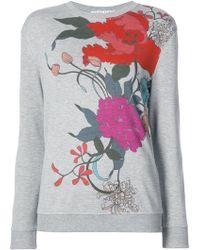 Trina Turk - Floral Print Sweatshirt - Lyst
