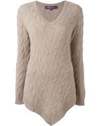 Pink Pony - 'truffle' Cable Knit Jumper - Lyst