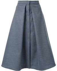 Dalood - A-line Inverted Skirt - Lyst