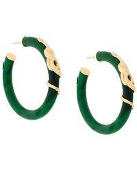 Gas Bijoux - Cobra Hoop Earrings - Lyst