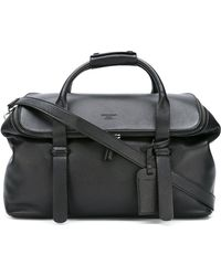 Giorgio Armani - - Large Holdall - Men - Cotton/leather - One Size - Lyst