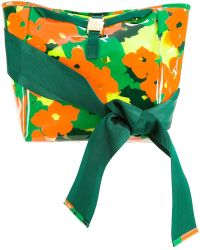 MUVEIL | Bow Handle Camouflage Shoulder Bag | Lyst