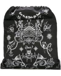 Givenchy - Tattoo Print Drawstring Backpack - Lyst