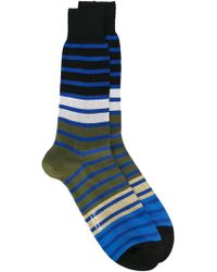 Paul by Paul Smith | Striped Socks | Lyst