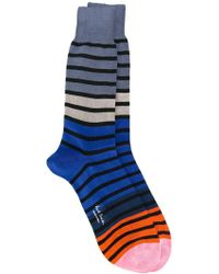 Paul by Paul Smith | - Striped Socks - Men - Cotton/polyamide - One Size | Lyst