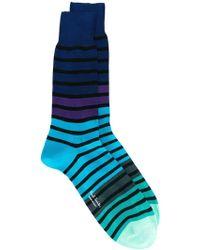Paul by Paul Smith - Striped Socks - Lyst
