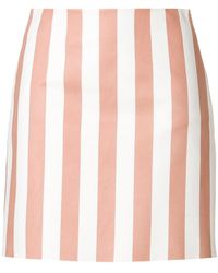 DROMe - Fitted Striped Skirt - Lyst