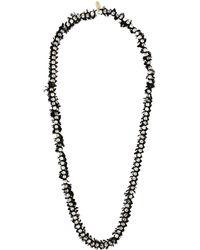 Forte Forte - Double Strands Swarovski Necklace - Lyst