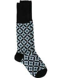 Marni - Tracery Intarsia Socks - Lyst
