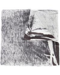 Label Under Construction - Bleach Effect Scarf - Lyst
