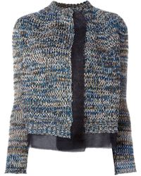 Nude - Knitted Jacket - Lyst