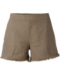 Majestic Filatures - Frayed Shorts - Lyst