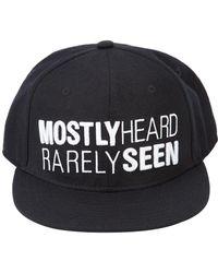 Mostly Heard Rarely Seen - Logo Cap - Lyst