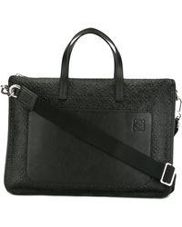 Loewe - Oversized Briefcase - Lyst