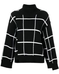 Mrz - Checked Knit Jumper - Lyst