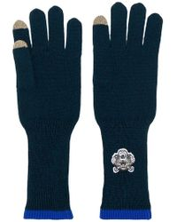KENZO - Logo Patch Gloves - Lyst