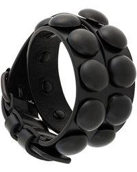Ann Demeulemeester - Studded Bracelet - Lyst