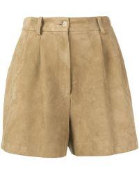 Nili Lotan - High-waisted Shorts - Lyst