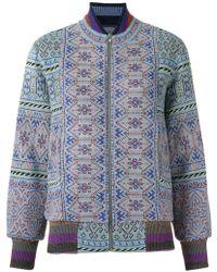 Cecilia Prado - Knitted Bomber Jacket - Lyst