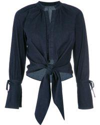 Giuliana Romanno - Denim (blue) Shirt - Lyst