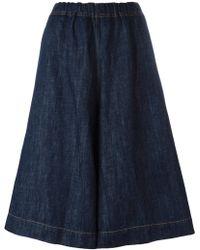 Sofie D'Hoore - Dark Denim Shorts - Lyst