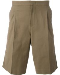Plac - Pleat Detail Shorts - Lyst