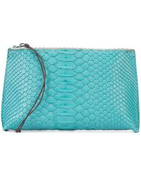 B May - Textured Make Up Bag - Lyst