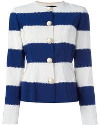 Rossella Jardini - Striped Jacket - Lyst