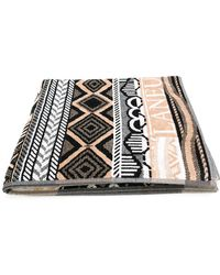 Laneus - Patterned Beach Towel - Lyst