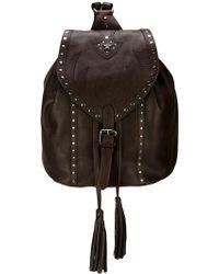 Just Cavalli - Fringe Detail Backpack - Lyst