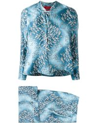 F.R.S For Restless Sleepers - Birds Print Suit - Lyst