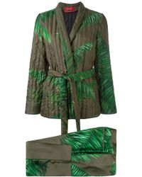 F.R.S For Restless Sleepers - Printed Suit - Women - Silk/polyamide - M
