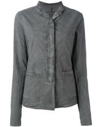 Rundholz Black Label - Distressed Shirt Jacket - Lyst