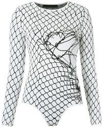 UMA | Raquel Davidowicz - - Knitted Bodysuit - Women - Spandex/elastane/viscose - M - Lyst