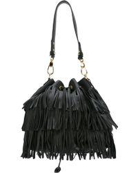 L'Autre Chose - Fringed Shoulder Bag - Lyst