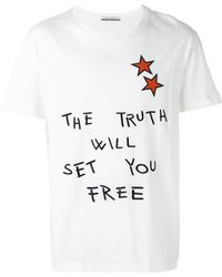 Andrea Pompilio - 'the Truth' Print T-shirt - Lyst