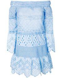 Temptation Positano - Off-the-shoulder Flared Dress - Lyst