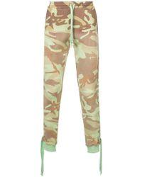 Faith Connexion - Camouflage Print Track Pants - Lyst