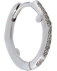 Shaun Leane Cherry Branch diamond hoop earring - Metallic ckQY2IG