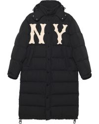 Gucci - Nylon Coat With New York Yankees Tm Patch - Lyst