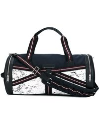Dior Homme - Three-tone Canvas Duffle Bag - Lyst