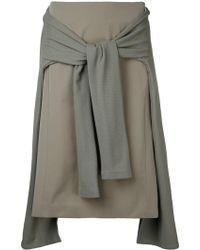 En Route - Layered A-line Skirt - Lyst