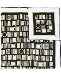 BVLGARI - Patterned Scarf - Lyst