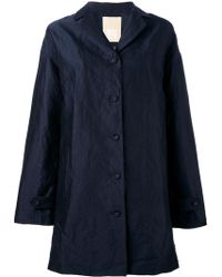 Pascal Millet - Satin Trench Coat - Lyst