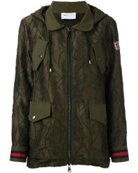 Isabelle Blanche - Embroidered Parka - Lyst