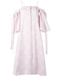 Alistair James - Shadowcast Shirt Dress - Lyst