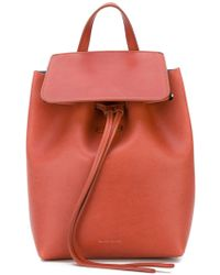Mansur Gavriel - - Drawstring Backpack - Women - Calf Leather - One Size - Lyst