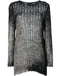Avant Toi - Knitted Sweatshirt - Lyst